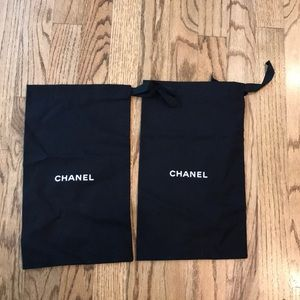 Pair of Chanel Shoe Dustbag